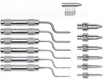 Bone Spreading Osteotomes Adjustable Screw Dental Implant Instruments