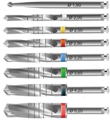 2ps Dental Drills for Dental Implant