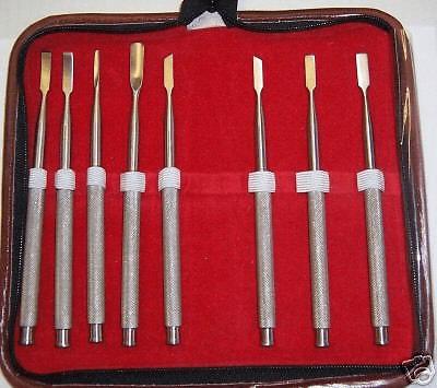 Bone Chisels set of 8