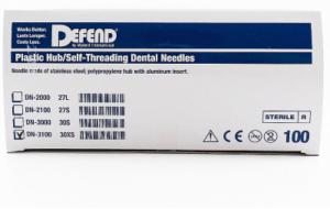 Disposable Injection Needles 27G & 30G Short, Extra Short, Medium, Long 100 per Box