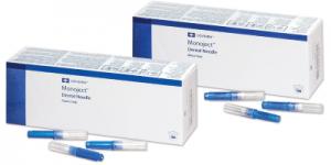 Monoject Dental Needles METAL Hub #401 Long/Short/X-Short 25Ga/27Ga/30Ga Bx/100